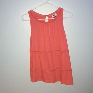 Coral tank top, never worn